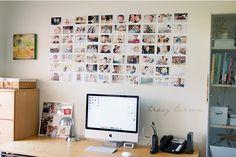 ¿Cómo puedo mostrar mis fotos en casa? Para la pared de mi pieza