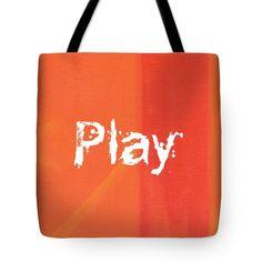 PLAY Tote Bag by Kathleen Wong
