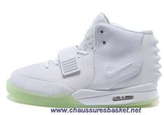 official photos 6ce11 55818 Authentic White Nike Air Yeezy II Men Shoes For Wholesale