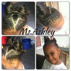 weave hairstyles for kids : ... hairstyles braids style hair style natural hair kids hairstyles flower