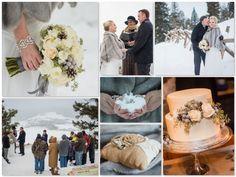 Elopement Wedding Fls By Pinkposeydesign With Coordination Customweddingsofcolorado Small Winter