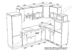 размер кухни в классическом стиле - Buscar con Google