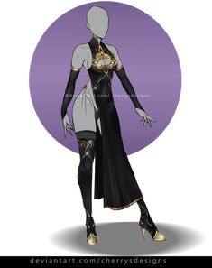 (closed) Auction Adopt - Outfit 845 by CherrysDesigns Source by clothes ideas Dress Drawing, Drawing Clothes, Fashion Design Drawings, Fashion Sketches, Anime Outfits, Cool Outfits, Character Inspiration, Character Design, Star Wars Bb8