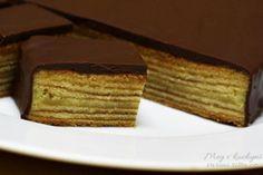 The Daring Bakers' January 2014 Challenge: Tree Cake (Baumkuchen) - Meg v kuchyni Tree Cakes, French Toast, Challenges, Breakfast, Recipes, Crochet, Morning Coffee, Crochet Hooks, Food Recipes