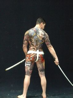 Japanese Yakuza Tattoo | Japanese-Tattoo-Wallpaper-#17 | TattooWallpaper.org