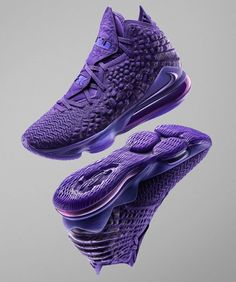 Nike Partners With NBA For Gamer Exclusives Sneaker Releases Purple Tennis Shoes, Purple Sneakers, Casual Sneakers, Men's Sneakers, Jordan Basketball Shoes, Volleyball Shoes, Mens Fashion Shoes, Sneakers Fashion, Fashion Outfits