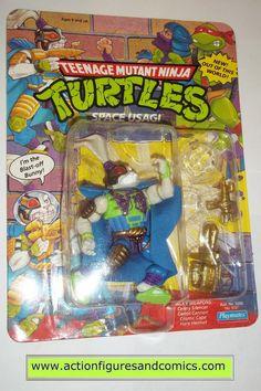 teenage mutant ninja turtles USAGI YOJIMBO SPACE 1991 vintage playmates toys mib moc mip tmnt
