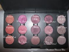 MAC - Red and Purple Palette