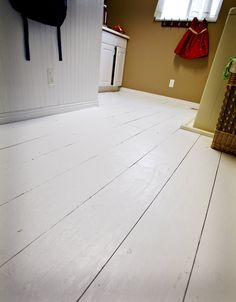 Old farmhouse floors out of plywood.. yes plywood.. looks good to me..