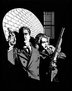"I bought a copy of this roleplaying game for two reasons: I was into ""noir""-themed media AND it featured cover art by Howard Chaykin. Sold!"