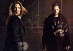 Agent Olivia Dunham and Peter Bishop