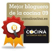 Mejor blog de Cocina 2009