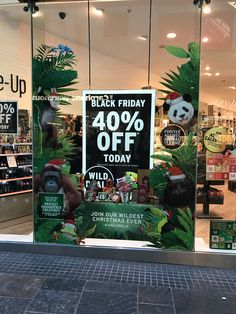 Ethical Body Shop taking part in the seasonal campaign.  The promotion is strong and clear through size and boldness of text, but stands out all the more because of the beautiful setting and reinforcement of environmental message