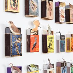 Matchboxes for   @itsnicethat  via @andrewdmalone