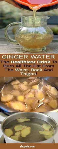 Ginger Water: The Healthiest Drink To Burn All The Fat From The Waist, Back And Thighs! #health #fitness #weightloss #fat #diy #drink #smoothie #weightloss #burnfat #diet #naturalremedies th #weightloss #burnfat #diet #naturalremedies #weightloss