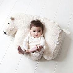 Nanami Polar Bear Pillow