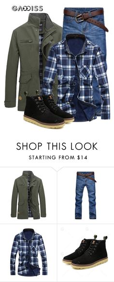 """SHOP - Gamiss.com"" by ladymargaret ❤ liked on Polyvore featuring men's fashion and menswear"