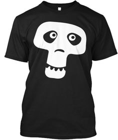 Halloween T Shirt. Black T-Shirt Front