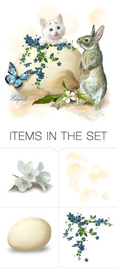 """""""Spring Delight"""" by emjule ❤ liked on Polyvore featuring art"""