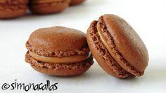 Macarons cu ciocolata reteta simpla 5 Something Sweet, Macaroons, Cookie Bars, Cake Cookies, Good Food, Food And Drink, Bread, Cooking, Desserts