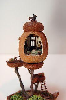 walnut shell house