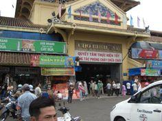 Ho Chi Minh City, Vietnam - Binh Tay Market (photo by Peggy Mooney)