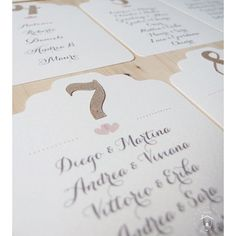 Tableau mariage pink and kraft