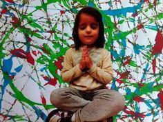 Namaste- Mantras para niños- Radhe Bol - YouTube