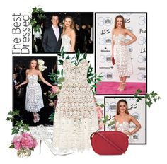 """""""2015 Independent Spirit Awards~ Kristina Bazan"""" by snugget9530 ❤ liked on Polyvore featuring Piaget, self-portrait, RED Valentino, Alexander Wang and Diane James"""