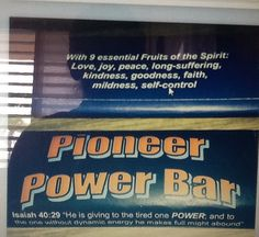 Pioneer power bar