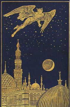"Book cover for for Scottish novelist Andrew Lang's ""The Arabian Nights Entertainment"" (1898)"