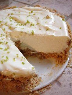 No Bake Lime Cheesecake - Grandmother's Kitchen