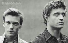 Jake Abel and Max Irons from The Host.  :D