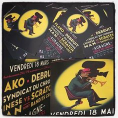 #flyers #chinesemanrecords #festivalinternationaldufilmdaubagne #2016 #affiches #posters #streetcom http://ift.tt/1SUfp2m