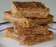 Peanut butter bars!