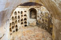 Image result for catacombs spain