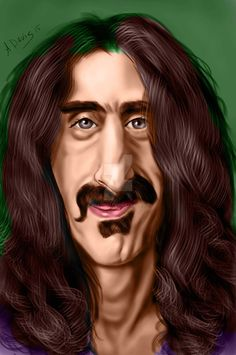 Yet another try @ Zappa for yet another contest on FaceBook.