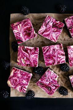 Blackberry cheesecake brownies http://bromabakery.com/2015/02/blackberry-cheesecake-brownies-recipe.html?utm_content=bufferc67d8&utm_medium=social&utm_source=pinterest.com&utm_campaign=buffer#comment-25338