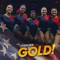 NBC Olympics @NBCOlympics Aug 9 .@TeamUSA wins #GOLD in the Women's Gymnastics Team Final! #Rio2016