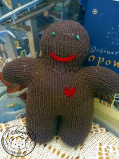 Gingerbread Boy - pattern by Sara Elizabeth Kellner