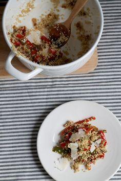 Quinoa con pimientos 'pepperonata'