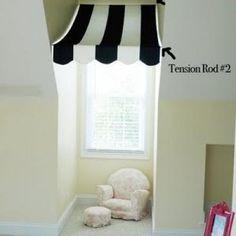 Window Awning {Window Treatments}