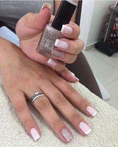 """7,112 Likes, 48 Comments - por Fabi Neuburger com amor (@dicasdeunhas) on Instagram: """"Que combinação perfeita ✨ : Açúcar Mascavo - Vult + Rosa Crystal - Avon : @cris_alvesamaro…"""""""