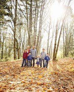family fall family pictures family of seven the red barn photography » Blog