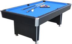 This Callisto 7ft Pool Table is a full-size table and great addition to any home or games room. Heavy duty, but full of quality and style it features chrome exterior and a luxurious blue cloth. It has fast action, high response, competition quality cushions so you can play just like the professionals. | eBay!