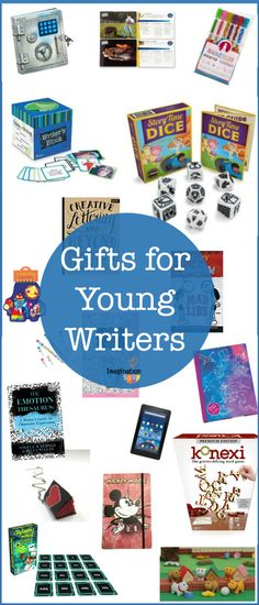 Are you looking for reading and writing gifts for kids who are growing as readers and writers? These playful gifts will get kids reading & writing. Writing Lessons, Kids Writing, Writing Activities, Activities For Kids, Writing Games, Gifts For Hubby, Cool Gifts For Kids, Educational Games For Kids, Kids Learning