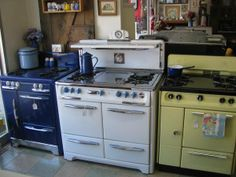 Buckeye Appliance restored vintage stoves