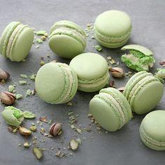 Pistachio Macaron by cofetaria Armand