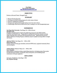 Trainer Resume personal trainer resume sample Crew Trainer Resume Samples Resume Service Phoenix