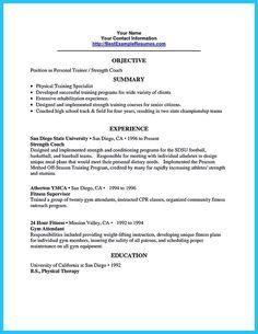 Trainer Resume personal trainer resume sample Crew Trainer Resume Samples Resume Service Phoenix